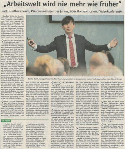 30. BOW-Forum Interview Prof. Gunther Olesch